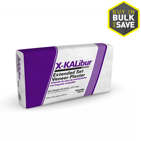 Shop Gold Bond X Kalibur 50 Lb Bag Plaster Of Paris At