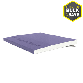 Gold Bond Purple XP Drywall Panel (Common: 1/2-in x 4-ft x 8-ft; Actual: 0.5-in x 4-ft x 8-ft)