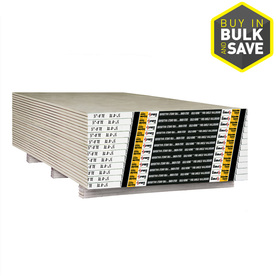 Gold Bond Drywall Panel (Common: 5/8-in x 4-ft x 8-ft; Actual: 0.625-in x 4-ft x 8-ft)