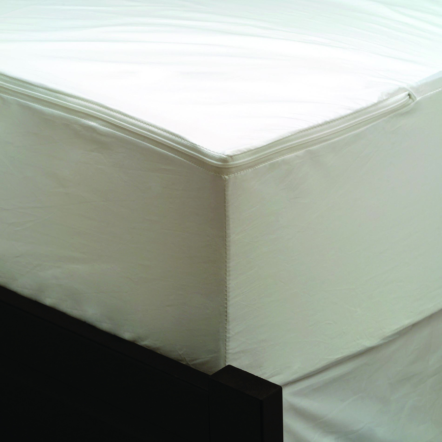 Shop Aller Ease Polyester Twin Hypoallergenic Mattress Or Box Spring Bed Bug Protection At