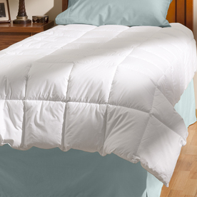 Aller-Ease White Twin Comforter Set
