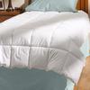 Aller-Ease White King Comforter Set