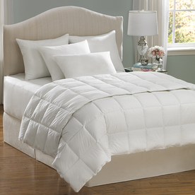Aller-Ease Hot Water Wash White Twin Comforter Set