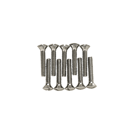 Brainerd 10-Pack #6-32 x 3/4-in Chrome Wall Plate Screws