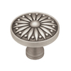 betsyfieldsdesign 1-1/2-in Brushed-Satin Pewter Round Cabinet Knob