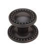 betsyfieldsdesign 1-1/4-in Venetian Bronze Round Cabinet Knob