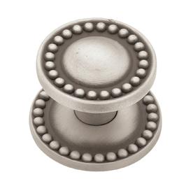 betsyfieldsdesign Brushed-Satin Pewter Round Cabinet Knob