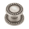 betsyfieldsdesign 1-1/4-in Brushed-Satin Pewter Round Cabinet Knob