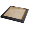 Sun-Tek 22.5 x 22.5 Sun-Tek Fixed Curb Mount Skylight with Impact Rated Bronze over Clear Polycarbonate Double Dome