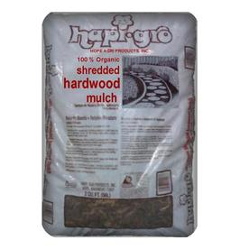 Hapi-Gro 2 cu ft All-Natural Shredded Hardwood Mulch