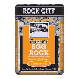 Rock City 0.5 cu ft Egg Rock