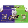 CESAR 12-Pack 3.5 oz Sirloin and Chicken Adult Dog Food Variety Pack