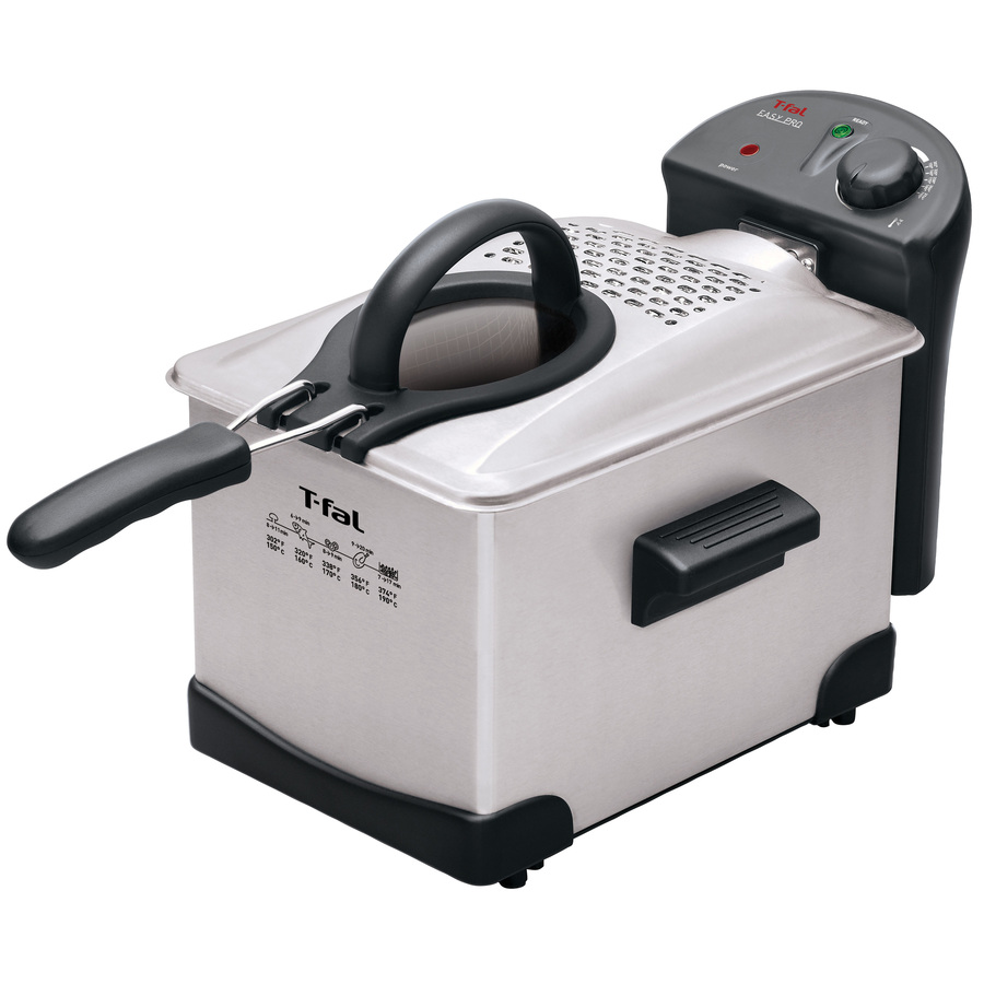 shop t fal 3 2 quart countertop deep fryer at. Black Bedroom Furniture Sets. Home Design Ideas