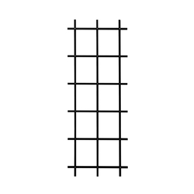 Matthews Four Seasons 3.75-in W x 78-in H Black Ladder Garden Trellis