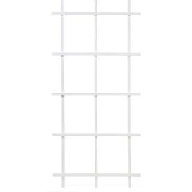 Matthews Four Seasons 3.75-in W x 78-in H White Ladder Garden Trellis