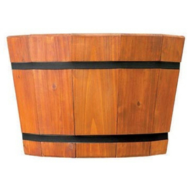 Matthews Four Seasons 17&#034; Shallow Heartwood Barrel Tub