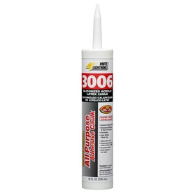 White Lightning 10 oz White Latex Window and Door Caulk