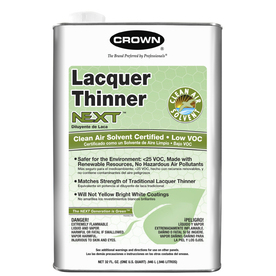 Crown 1-Quart Slow to Dissolve Lacquer Thinner