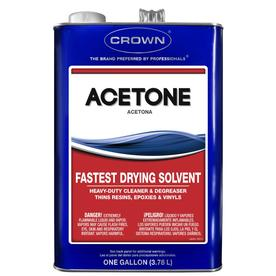 Crown 1-Gallon Fast to Dissolve Acetone