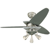 Harbor Breeze 42-in Vector Brushed Nickel Ceiling Fan