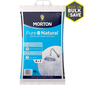 Shop Morton 40 lb Salt Solar Crystals At Lowescom