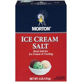 Morton 4-lbs Ice Cream Salt