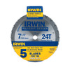 IRWIN 7-1/4-in 24-Tooth Circular Saw Blade Set