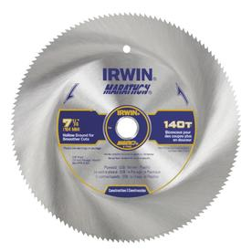 IRWIN 7-1/4-in 140-Tooth Continuous Circular Saw Blade