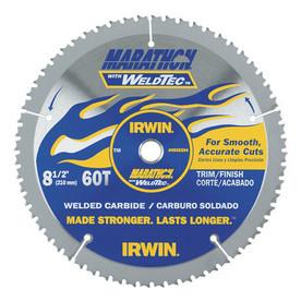 IRWIN Marathon with Weldtec 8-1/2-in Circular Saw Blade