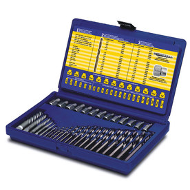 IRWIN Irwin Hanson 35Pc Extractor and Drill Bit Set