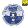 IRWIN Marathon 7-1/4-in 4-Tooth Circular Saw Blade