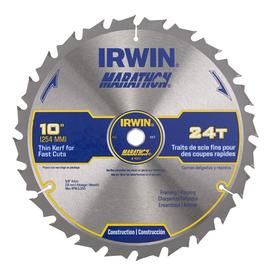 IRWIN Marathon 10-in 24-Tooth Circular Saw Blade