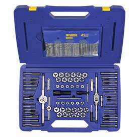 IRWIN 117-Piece Metric and Standard (SAE) Tap and Die Set