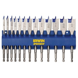 IRWIN 13-Pack Spade Bit Set