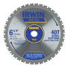 IRWIN 6-3/4-in 40-Tooth Standard Carbide Circular Saw Blade