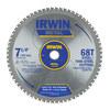 IRWIN 7-1/4-in 68-Tooth Standard Carbide Circular Saw Blade
