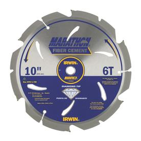 IRWIN Marathon 10-in 6-Tooth Circular Saw Blade