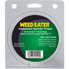 Weed Eater Tap N Go IV Plastic Gas Trimmer Replacment Head