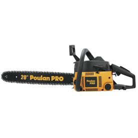 Poulan Pro 46cc 2-Cycle 20-in Gas Chainsaw with Case