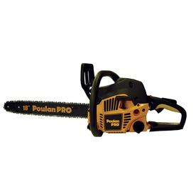 Poulan Pro 42cc 2-Cycle 18-in Gas Chainsaw with Case