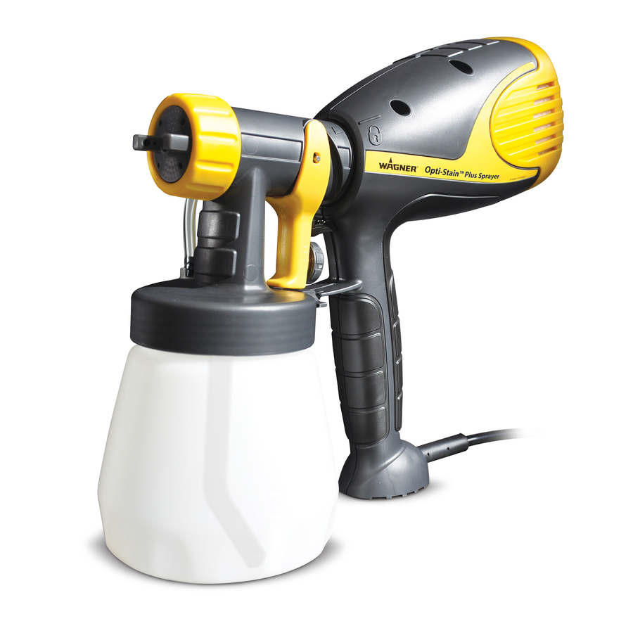 Shop wagner opti stain plus sprayer at for Hplv paint sprayer