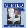 U-Bild Adirondack Chair Woodworking Plan