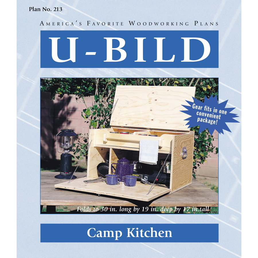 Shop U-Bild Camp Kitchen Woodworking Plan at Lowes.com