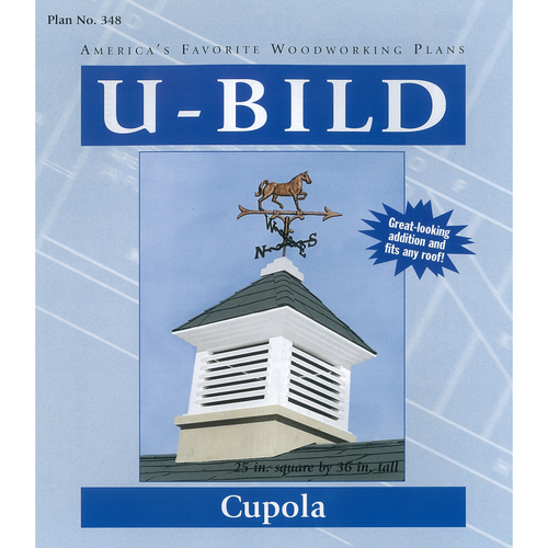 Wood working projects woodworking plans cupola for Free cupola plans