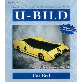 U-Bild Car Bed Woodworking Plan