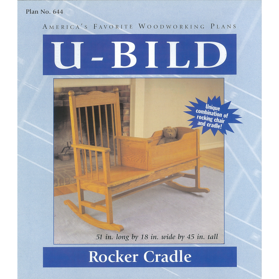 Shop U Bild Rocker Cradle Woodworking Plan At