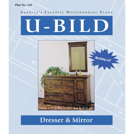 U-Bild Dresser and Mirror Woodworking Plan