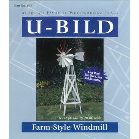 U-Bild Farm-Style Windmill Woodworking Plan