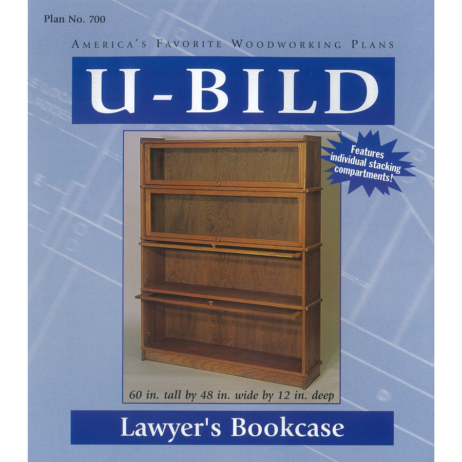 Free Woodworking Plans Barrister Bookcase