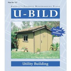 U-Bild Utility Building Woodworking Plan